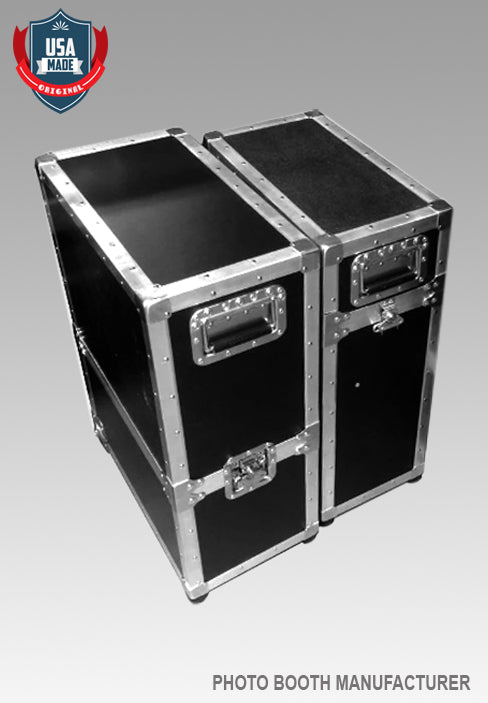 T12 LED Photo Booth Travel Road Cases (Set of 2 Cases)