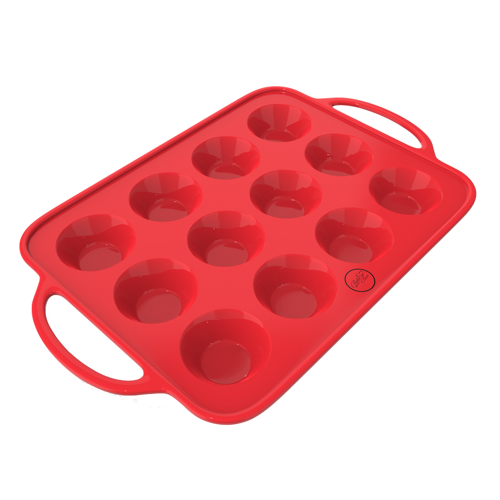 Muffin Pan with handle, 12 cups