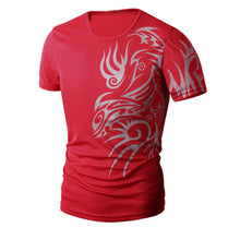 Load image into Gallery viewer, Men Summer Fashion Printing Men's Short-sleeved T-shirt
