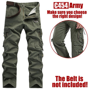 Multi-pockets Cargo Pants