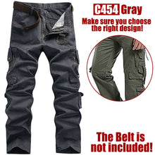 Load image into Gallery viewer, Multi-pockets Cargo Pants