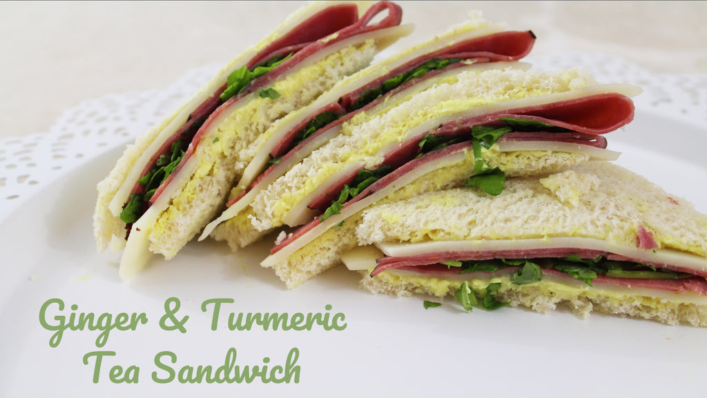 Ginger & Turmeric Tea Sandwiches – The Fine Market