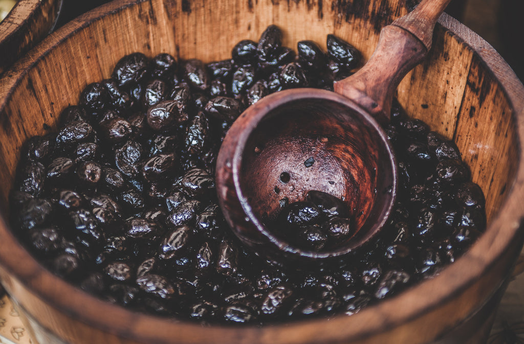 TOP 5 BENEFITS OF EATING BLACK OLIVES