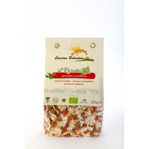 Organic Quick Meal Tomato And Basil Risotto - The Fine Market