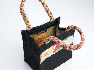 Box Bag | Braided Handle