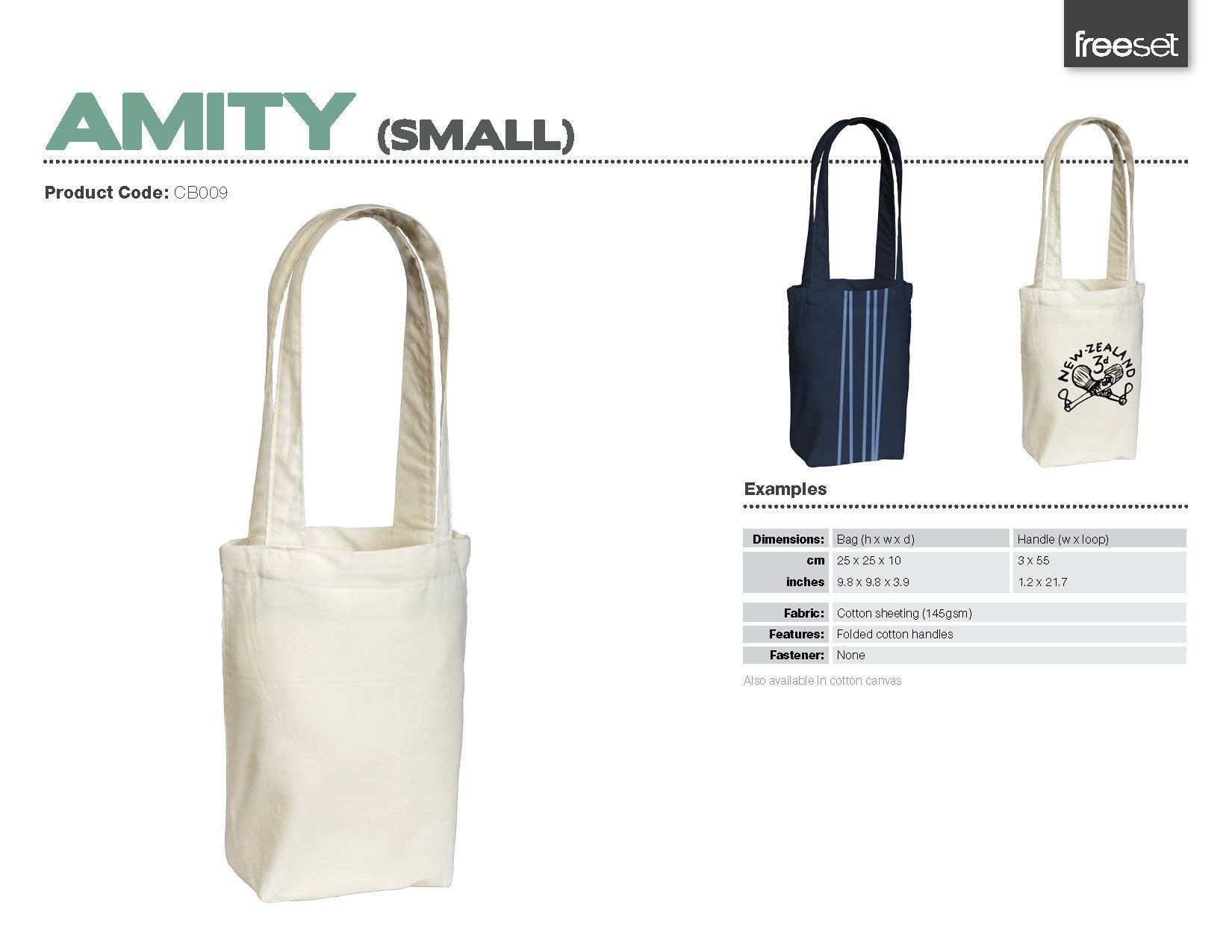 Amity | Large & Small