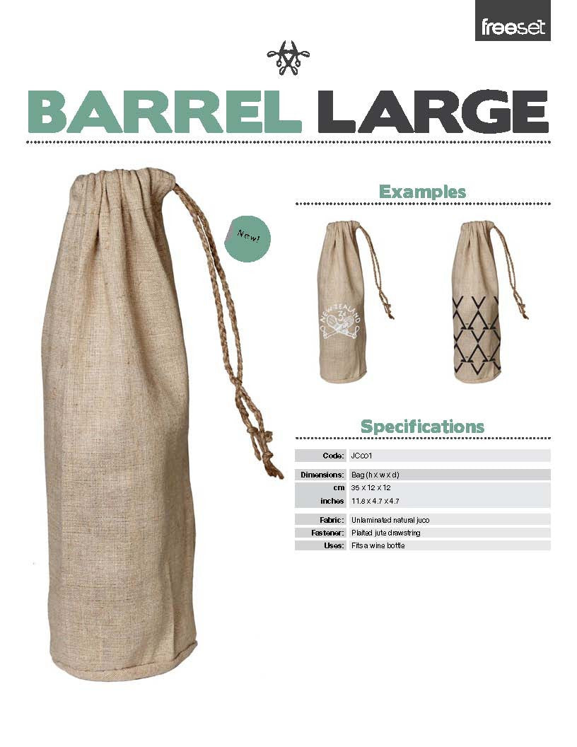 Barrel Bag (large)