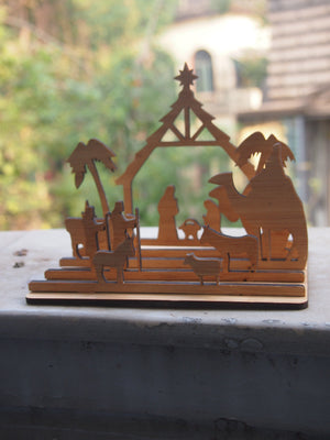 Pop Up | Nativity Set