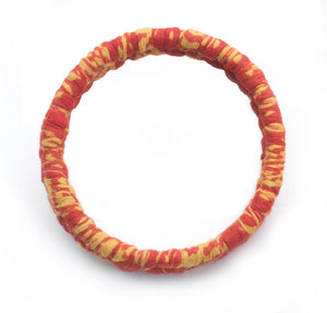 Braided Sari Bangle