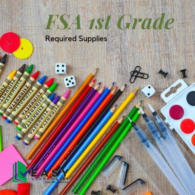 FSA - School Supply List 1st Grade