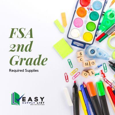 FSA - School Supply List 2nd Grade