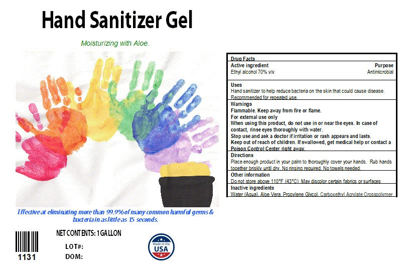 1 Gallon Gel Hand Sanitizer. FDA Approved and USA Manufactured. Available for wholesale orders only.