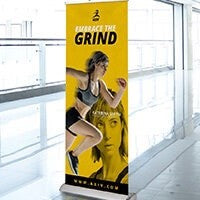 Retractable Stand Plus 1 Banner (Single-Sided)