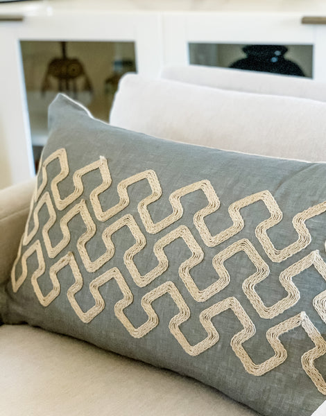 Jute Pillow Cover