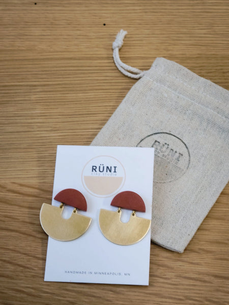 RUNI CLAY STUDIO Eos Earrings