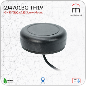 2J4701BG-TH19 GPS/GLONASS Screw Mount - www.multiband-antennas.com