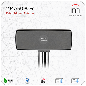 2J4A50PCFc Patch Mount Antenna - www.multiband-antennas.com