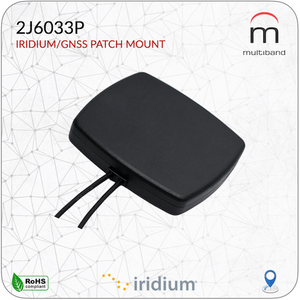 2J6033P Iridium/GPS Patch Mount - www.multiband-antennas.com