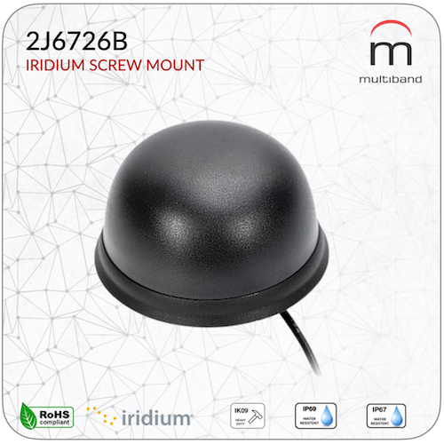 2J6726B Iridium Screw Mount - www.multiband-antennas.com