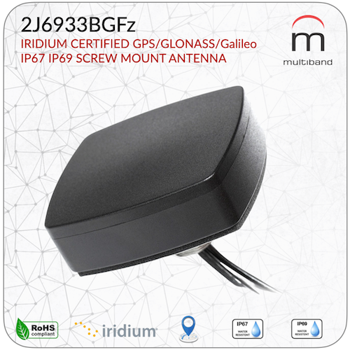 2J6933BGFz Iridium/GPS Body Mount - www.multiband-antennas.com