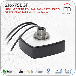 2J6975BGF LTE/GNSS/Iridium Screw Mount - www.multiband-antennas.com