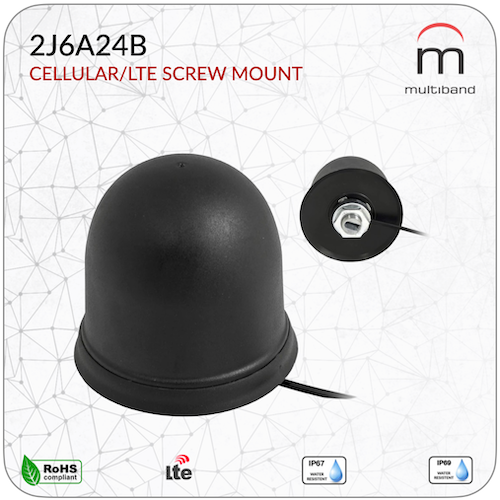 2J6A24B Cellular/LTE Screw Mount - www.multiband-antennas.com