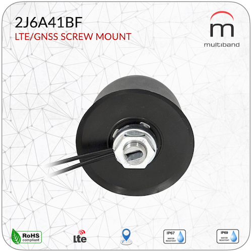 2J6A41BF LTE/GNSS Screw Mount - www.multiband-antennas.com