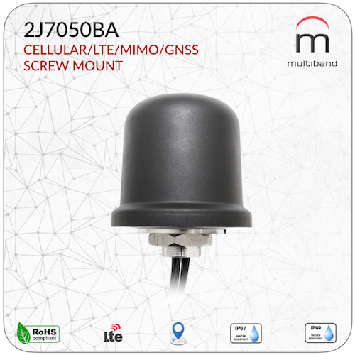 2J7050BA CELLULAR/LTE MIMO/GNSS - www.multiband-antennas.com