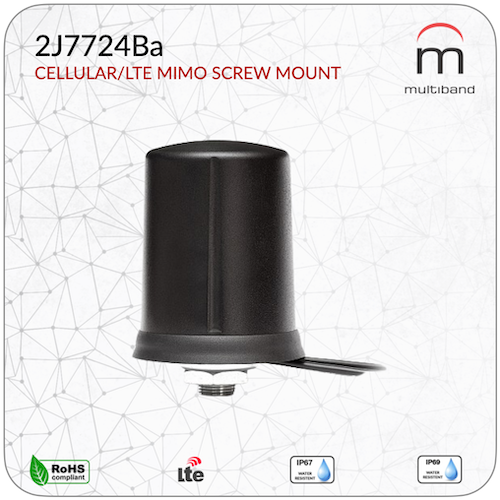 2J7724Ba CELLULAR/LTE MIMO Screw Mount - www.multiband-antennas.com