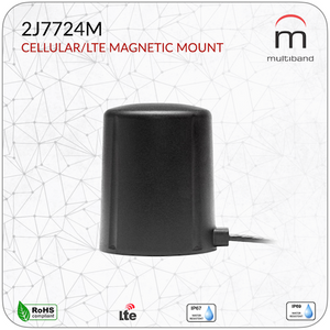 2J7724M CELLULAR/LTE MIMO Mag Mount - www.multiband-antennas.com