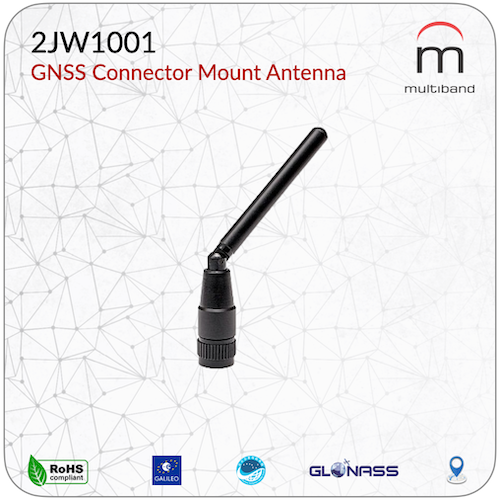 2JW1001 GNSS Connector Mount Antenna - www.multiband-antennas.com