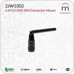 2JW1002 2.4/5.0 GHZ ISM Connector Mount - www.multiband-antennas.com