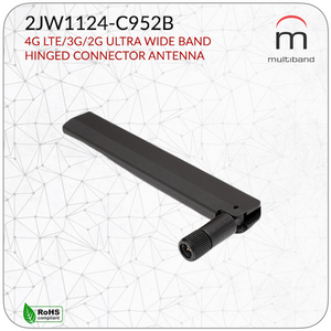 2JW1124-C952B CELLULAR / LTE Connector Mount - www.multiband-antennas.com