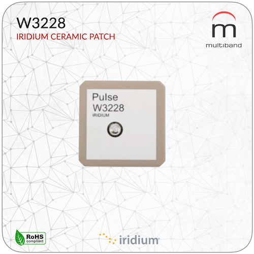 W3228 Iridium Patch Antenna (10 Pcs) - www.multiband-antennas.com
