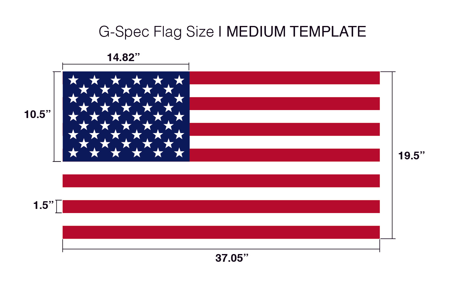 image regarding American Flag Star Stencil Printable identified as Star Sector Templates for Craftsmen of AMERICAN Picket Flags