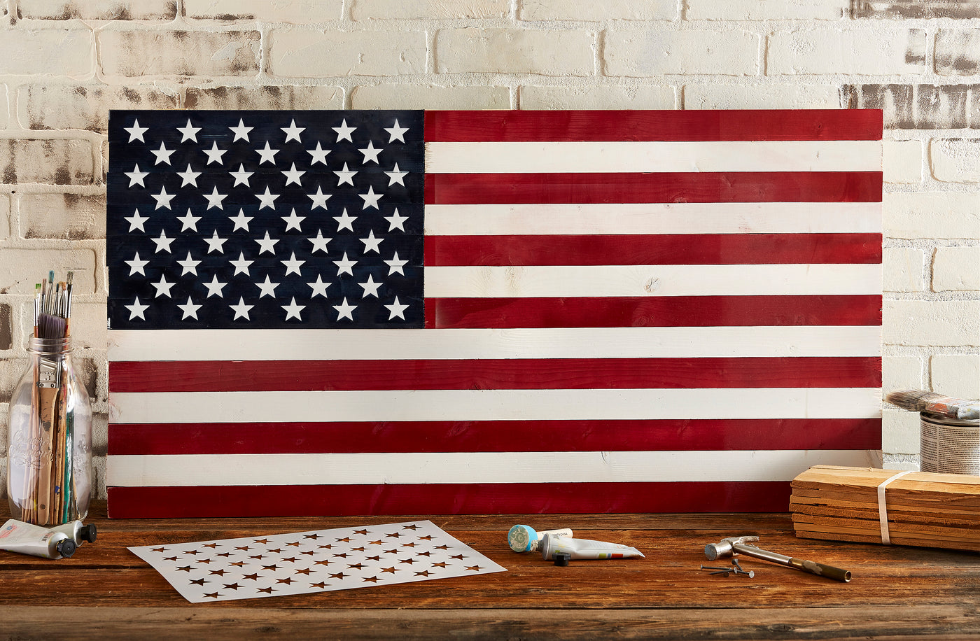 photo regarding American Flag Star Stencil Printable identified as Star Sector Templates for Craftsmen of AMERICAN Picket Flags