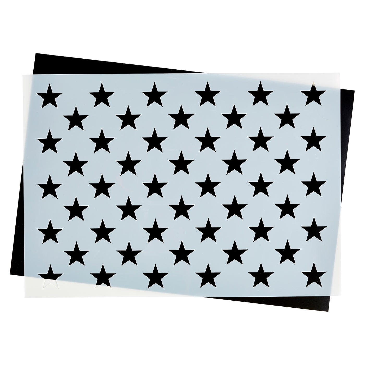 image about 50 Star Stencil Printable titled Star Business Templates for Craftsmen of AMERICAN Wooden Flags