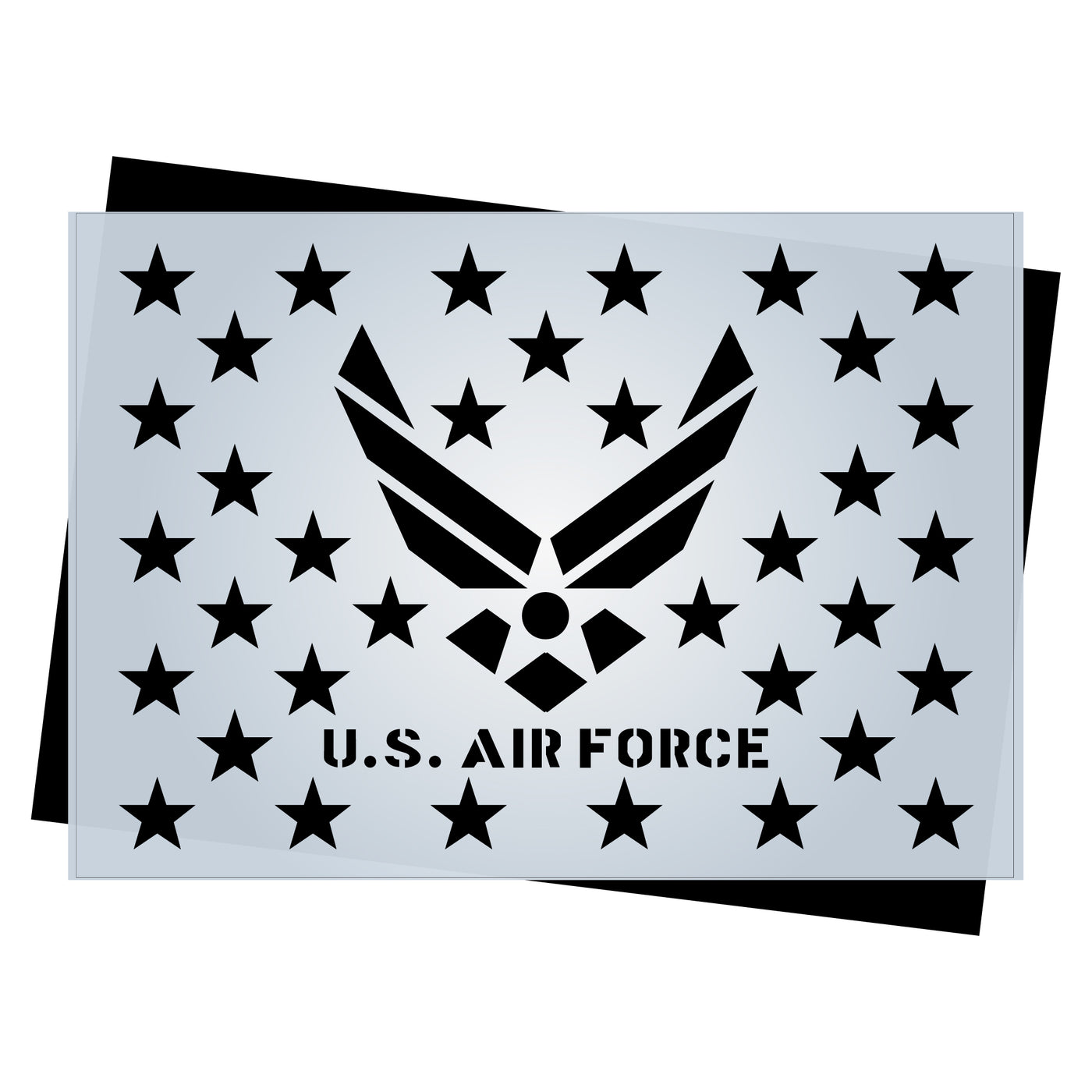 photograph relating to 50 Star Stencil Printable identified as Star Market Templates for Craftsmen of AMERICAN Picket Flags