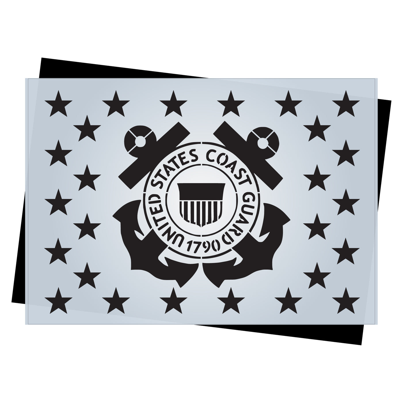image relating to 50 Star Stencil Printable named Star Market Templates for Craftsmen of AMERICAN Picket Flags