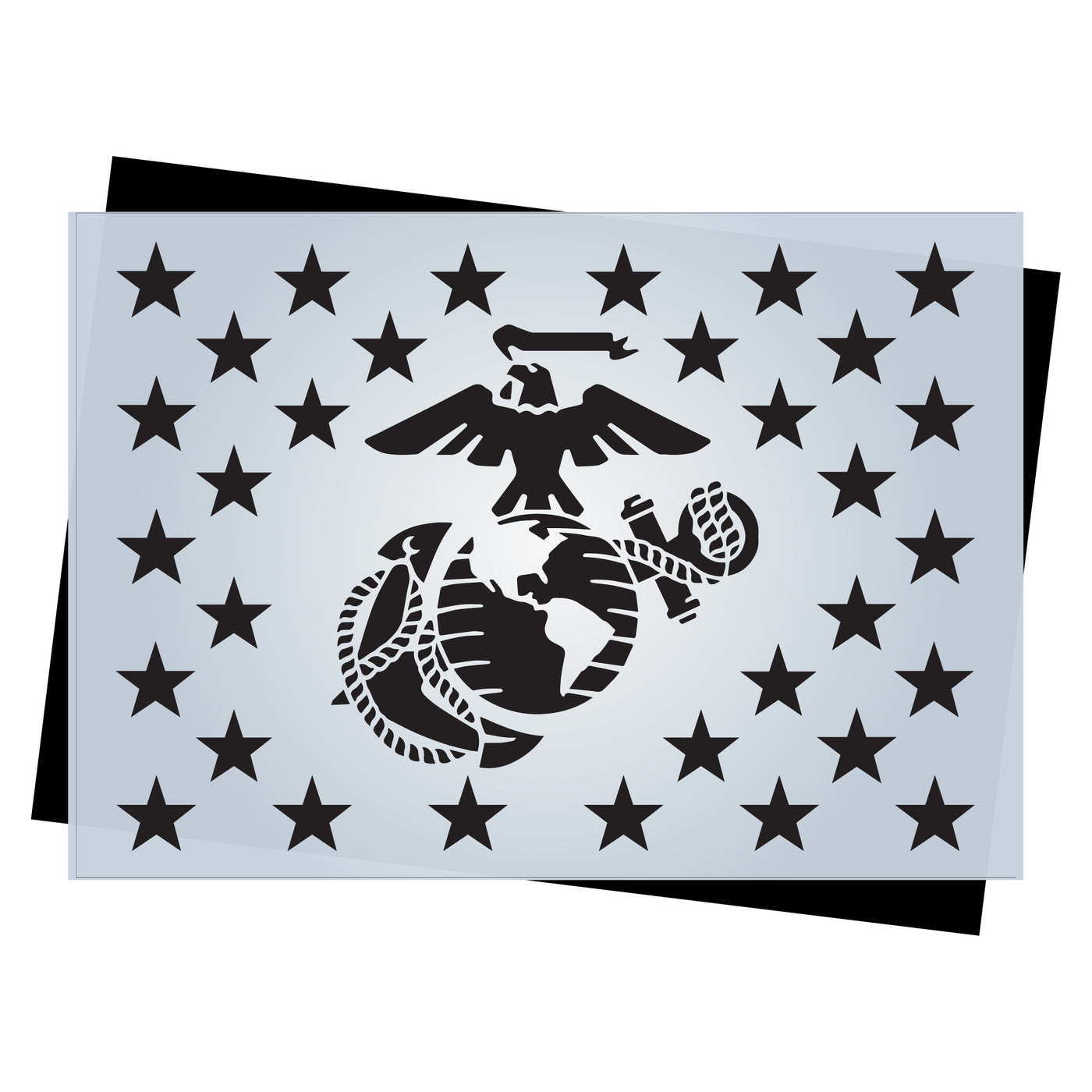 graphic regarding 50 Star Stencil Printable identify Star Business Templates for Craftsmen of AMERICAN Picket Flags