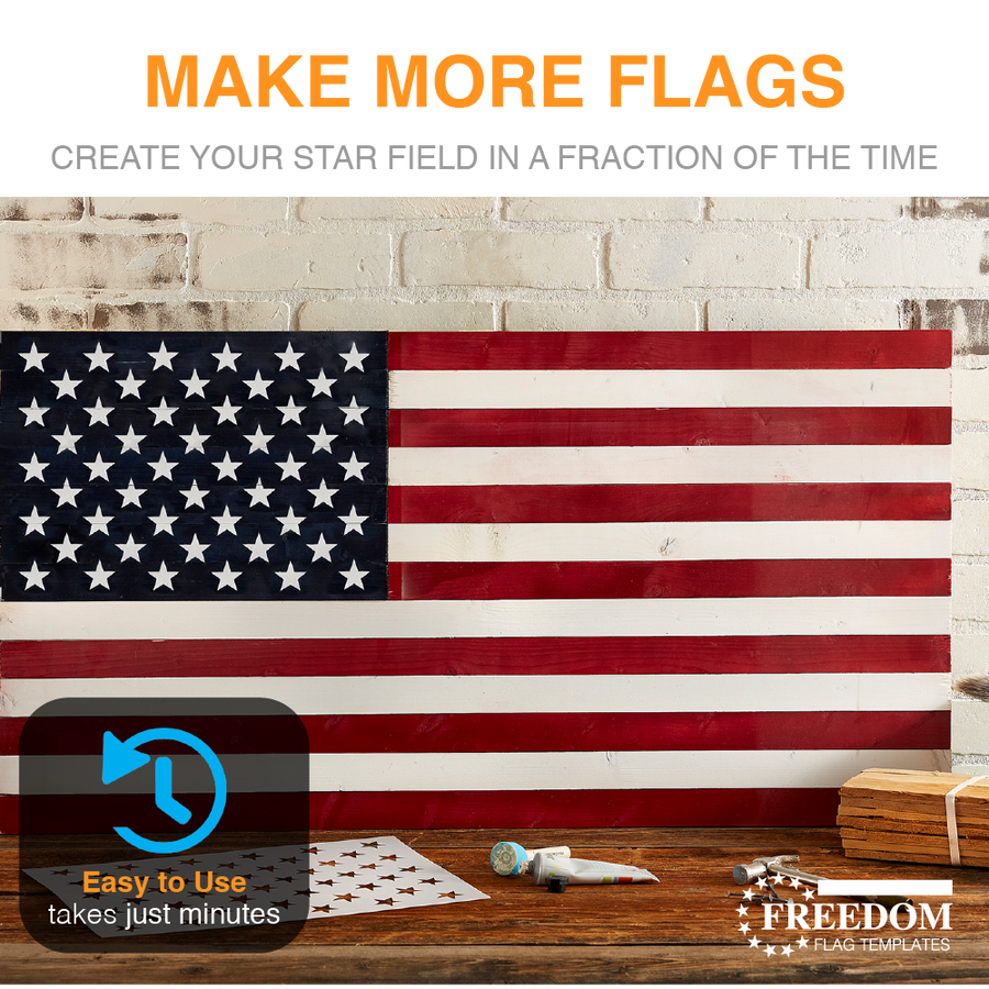 photo relating to American Flag Star Stencil Printable named Star Sector Templates for Craftsmen of AMERICAN Picket Flags