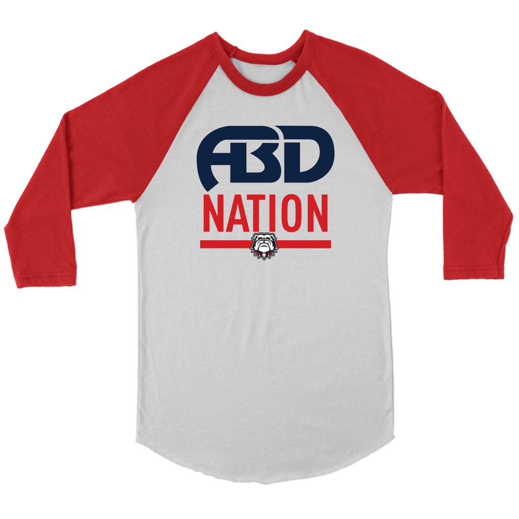 ABD NATION 3/4 SLEEVES (Adult)
