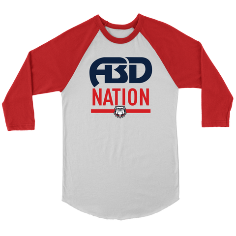 Image of ABD NATION 3/4 SLEEVES (Adult)