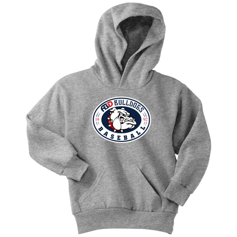 Image of ABD BULLDOGS VINTAGE HOODIE (Youth)