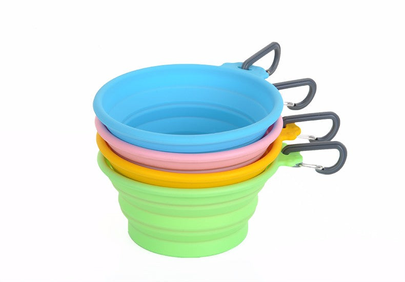New Silicone Folding Bowl Out Portable