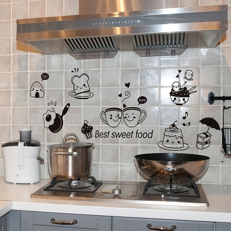Kitchen Coffee Wall Stickers