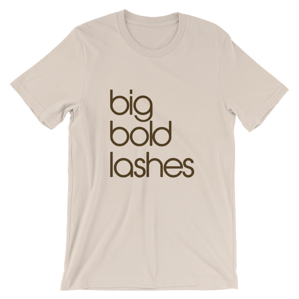 Big Bold Lashes  - Cotton T-Shirt
