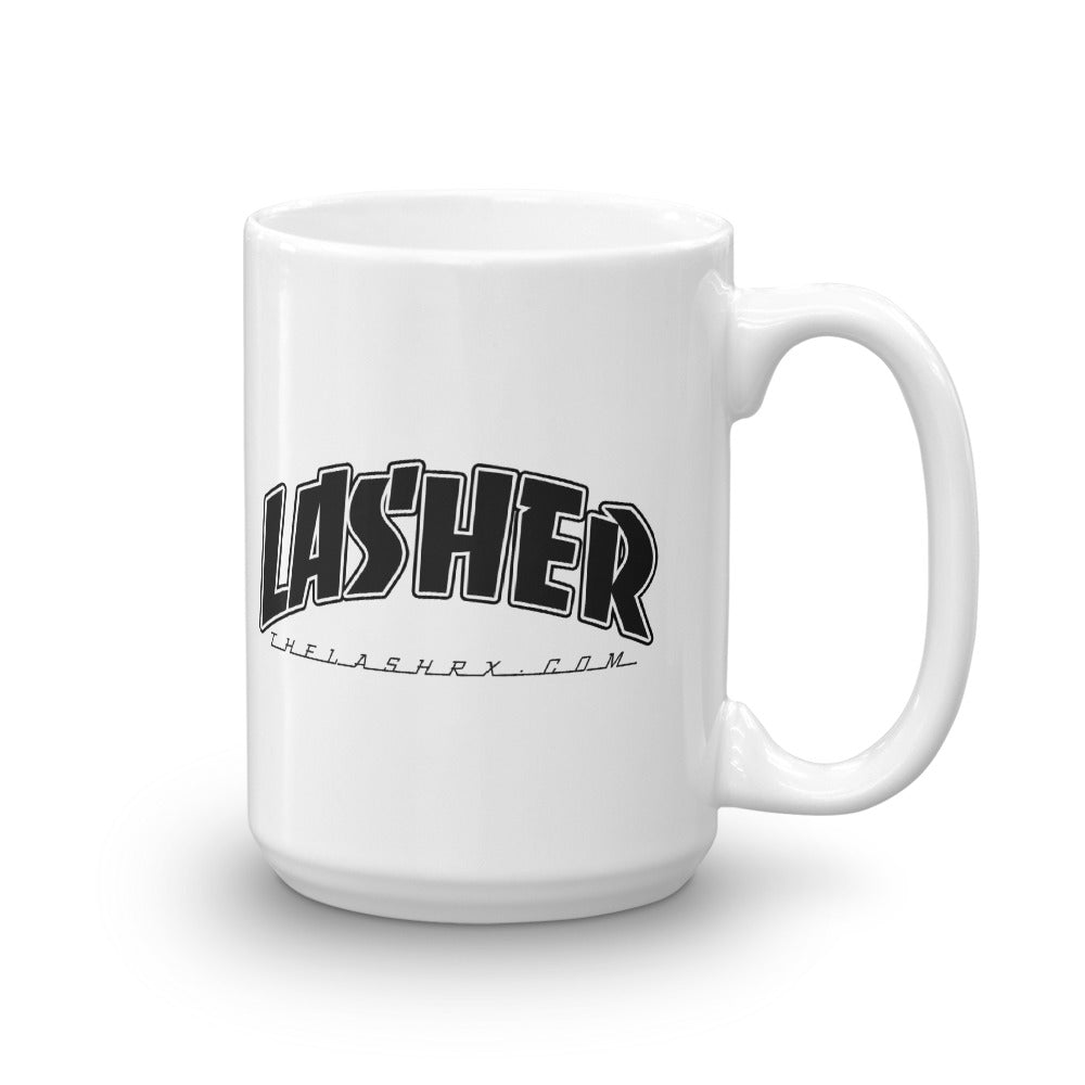 I'm a Lasher - Ceramic Coffee Mug