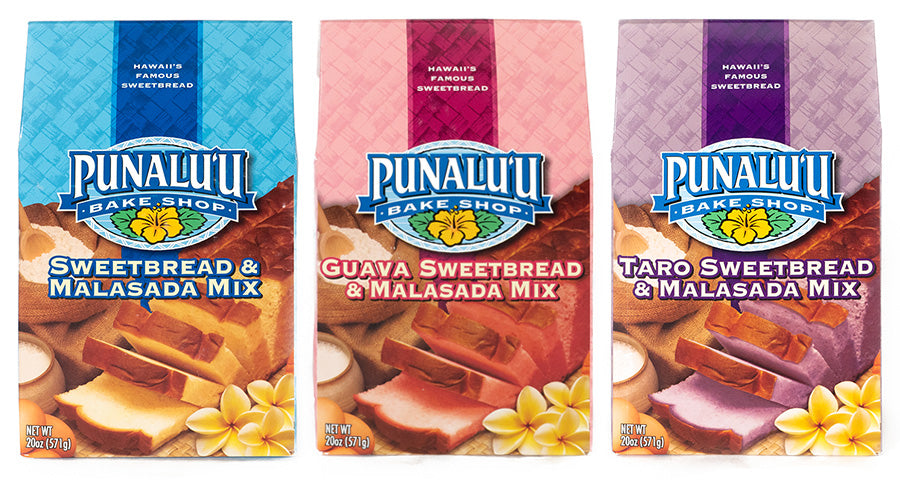 Punalu'u Sweet Bread & Malasada Mix