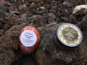 Alae'a Red Gold Skin Polish and Volcano Soap